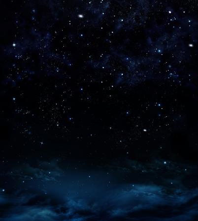 밤의 아름다운 배경 스톡 콘텐츠