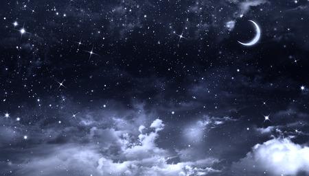 no time: nightly sky