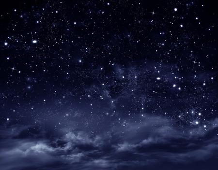 夜の空 写真素材