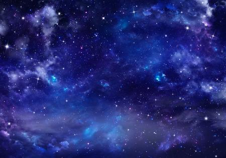 beau fond du ciel nocturne Banque d'images