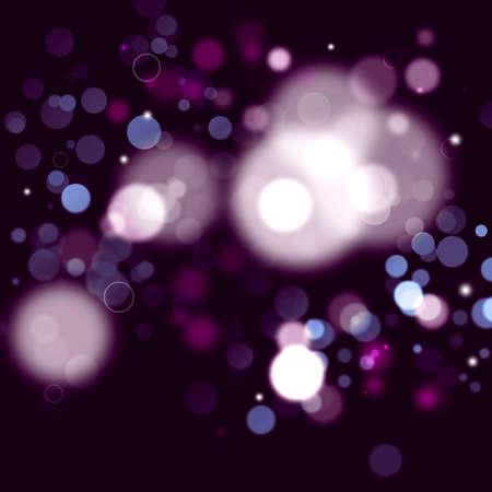purple abstract background: bellissimo sfondo astratto viola con luci sfocati Archivio Fotografico