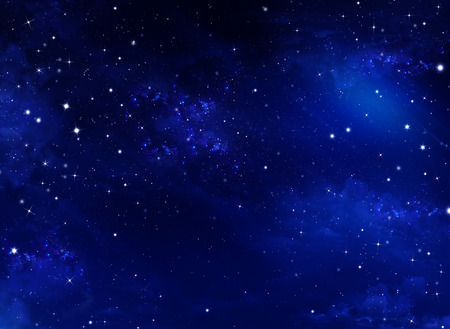Cielo notturno stellato Archivio Fotografico - 40384877