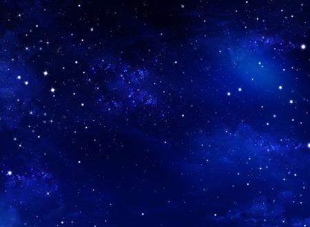 starry night sky photo