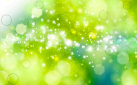 green festive background photo