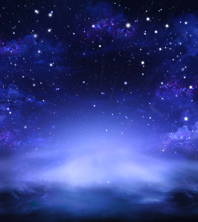 sky background: Night sky with stars