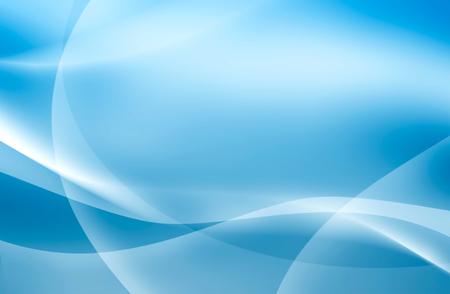 Fondo azul abstracto con líneas de intersección, papel pintado, ondas, Foto de archivo - 44236885