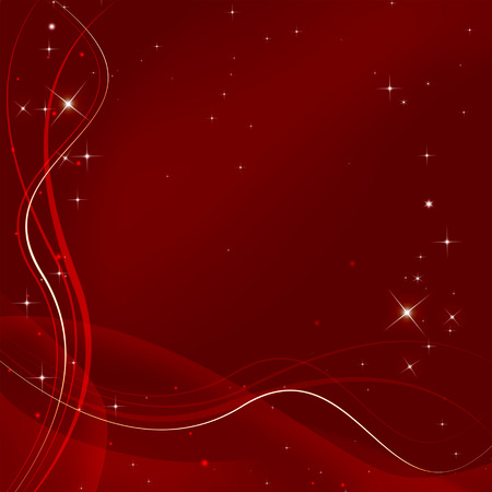 christmas background: starry fantasy Christmas background Stock Photo
