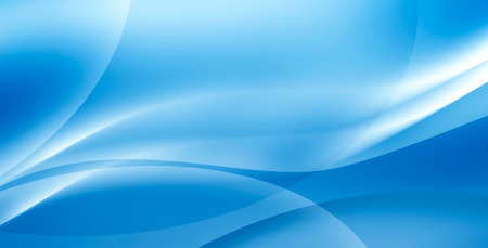 abstract blue waves background Stock Photo