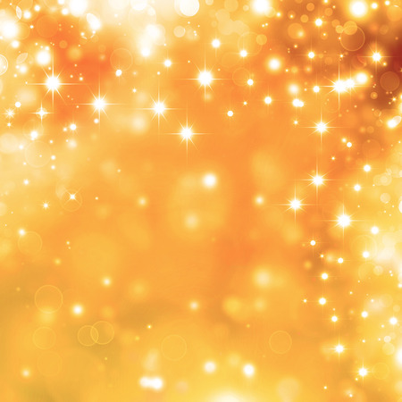 festive background: Glittery golden festive background