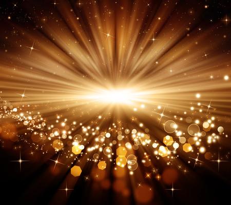 beatiful: glowing Christmas background