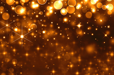 glittery: Glittery golden holiday background