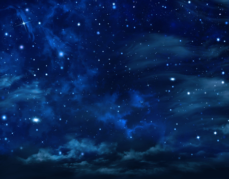 nightly: beautiful background, nightly sky