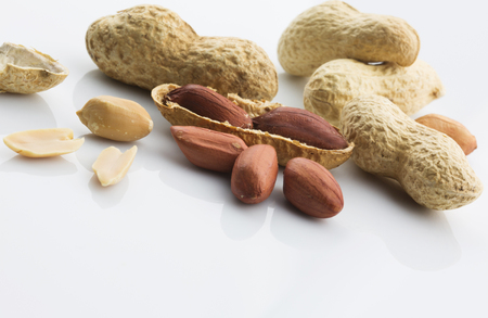 hard core: Dried peanuts