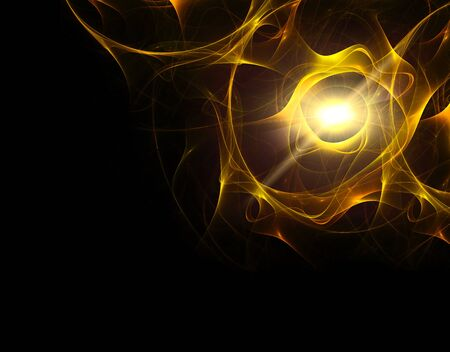 energy background: abstract golden background, Energy