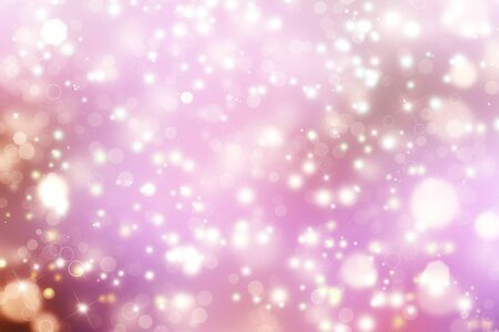 glittery: Glittery beautiful bokeh background with stars