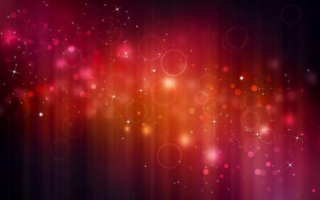 festive background: elegant red festive background with stars Stock Photo