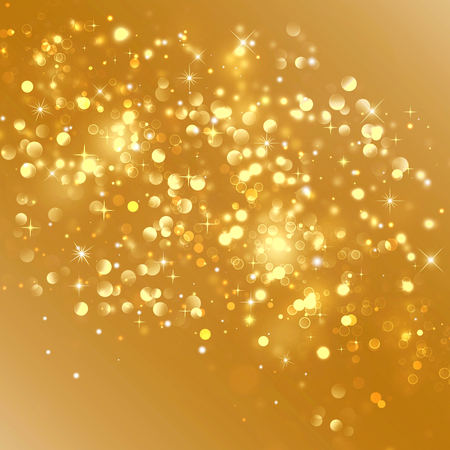 christmas gold: Gold Christmas background