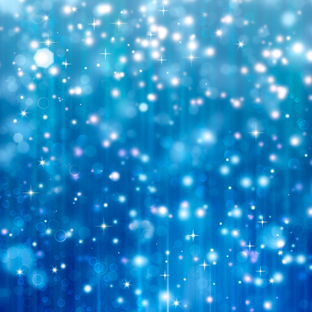 beautiful blue Christmas background Stock Photo