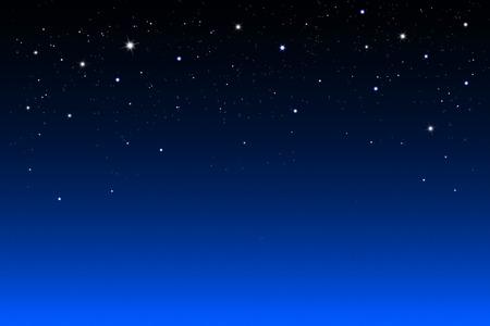 estrellas en el cielo nocturno, fondo abstracto Foto de archivo