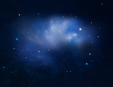 astro: starry night background, galaxy Stock Photo