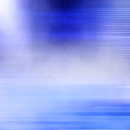 abstract paintings: abstract blue background Stock Photo