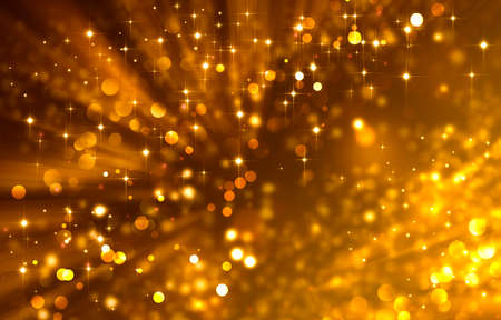 glittery: Glittery golden festive background with stars