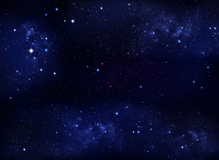 stars in the night sky, abstract background