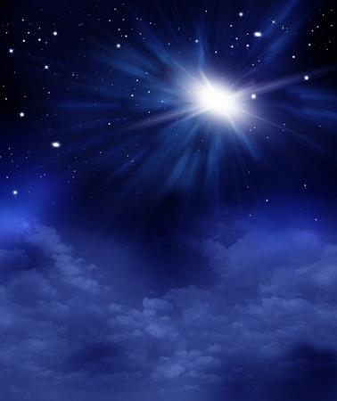 beautiful background of the night sky with stars 版權商用圖片 - 112324948