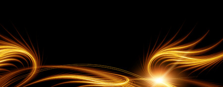 abstract golden background, Energy