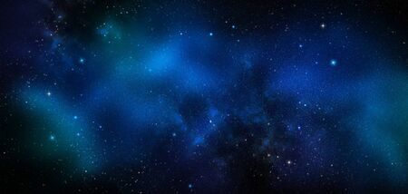 deep space, abstract blue background Stok Fotoğraf - 131009567
