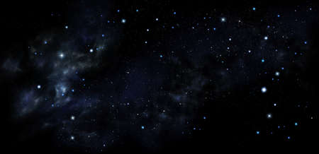 Stars in outer space, background of the night sky Фото со стока