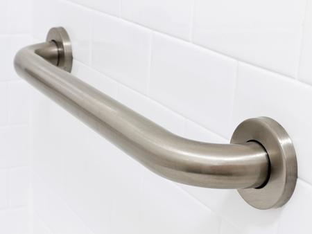 호텔 장애인 출입 금지 화장실에서 손잡이 줄의 그림 스톡 콘텐츠