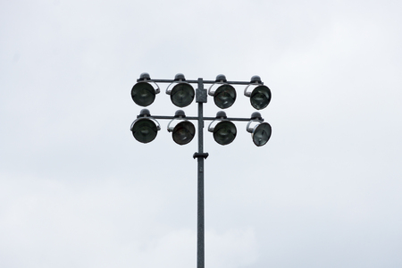 Sports Stadium Lights on a Pole Reklamní fotografie
