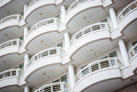 Picture of balcony building architecture close-up Reklamní fotografie - 77879066