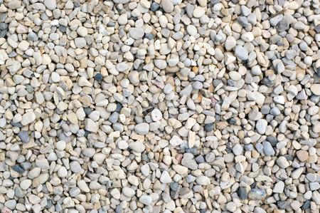 小さな岩礫のクローズ アップの背景画像。