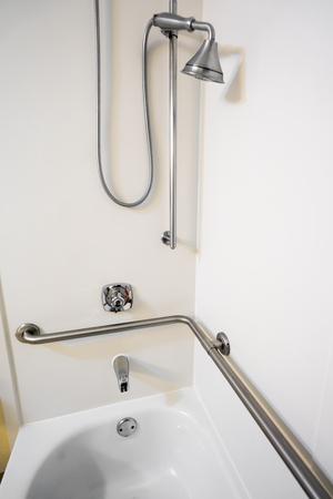 Disabled Access Bathtub Shower with Grab Bar Hand Rails