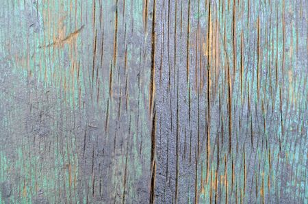 Background of old natural wooden empty room with messy and grungy