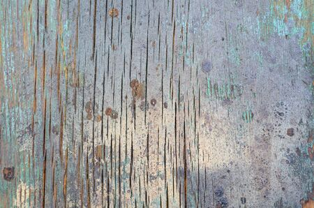Background of old natural wooden empty room with messy and grungy Фото со стока