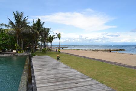 nusa: Ocean view at Nusa Dua beach resort in Bali island
