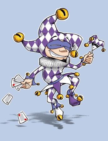 harlequin: Purple Diamonds Fool