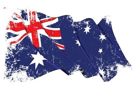 canberra: Australia flag