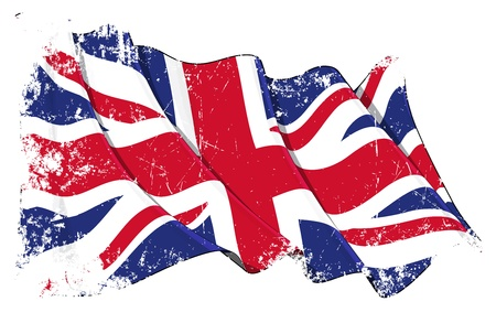 Great Britain flag Stock Vector - 14306318