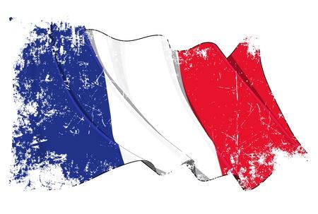 Bandiera Francia Archivio Fotografico - 14306308
