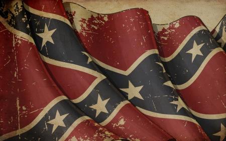 南軍の反乱の古い紙