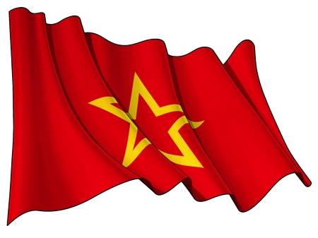 army flag: Red Army flag