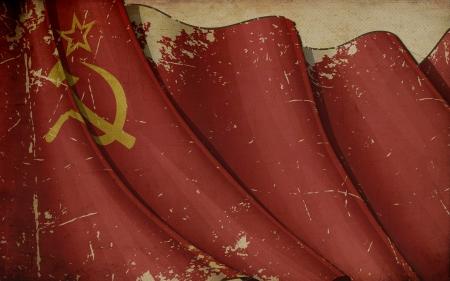 Soviet Union Old Paper Imagens