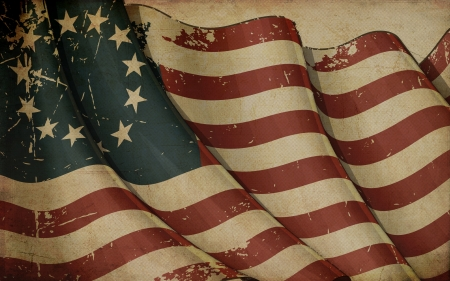 us grunge flag: USA Betsy Ross Old Paper