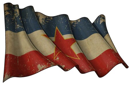 Yugoslavian Historic flag photo