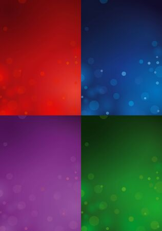 Four Christmas Backgrounds Stock Vector - 16690943