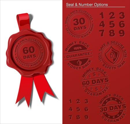 impress: Cera Shield - Money Back Guaranty Vettoriali